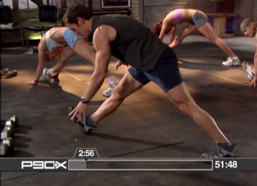 p90x legs and back
