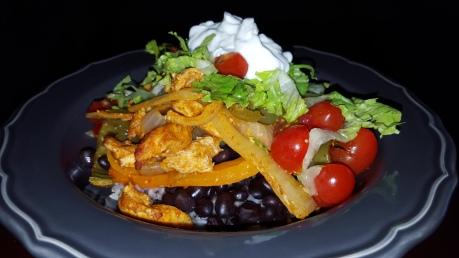 fajita burrito bowl