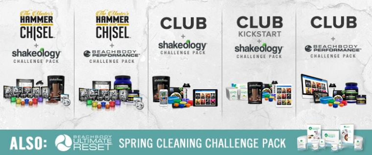 April 2016 challenge packs